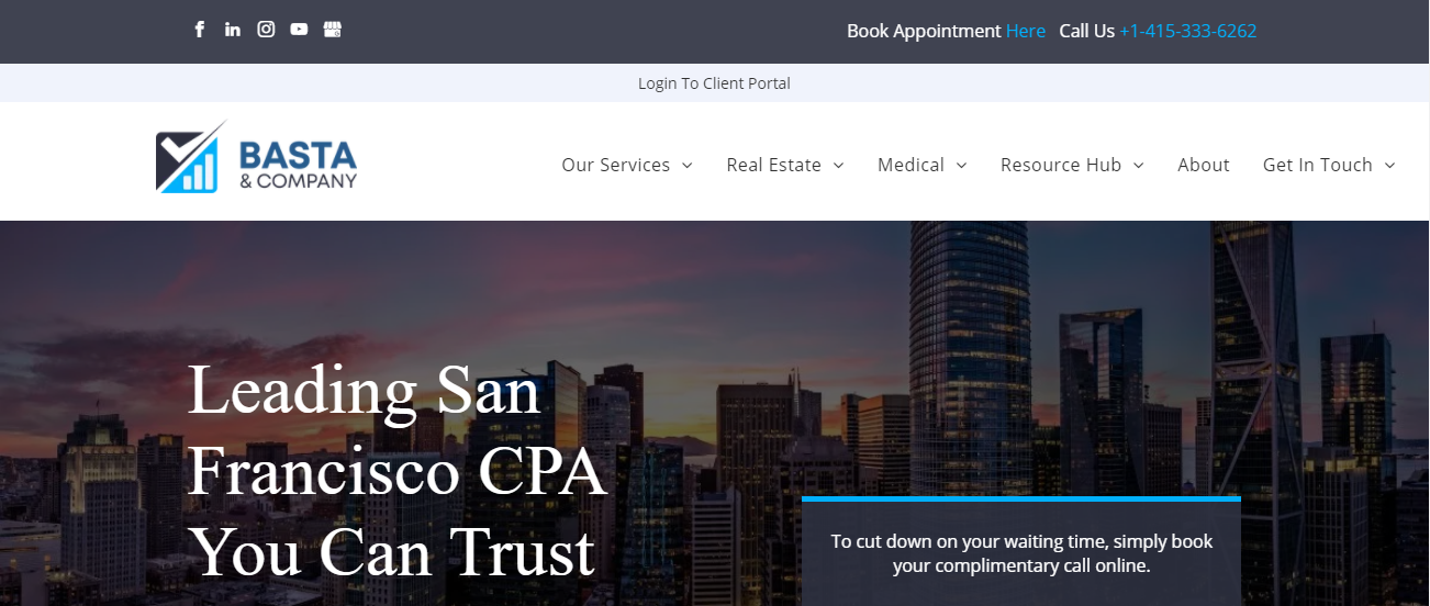 Basta & Company in San Francisco, CA