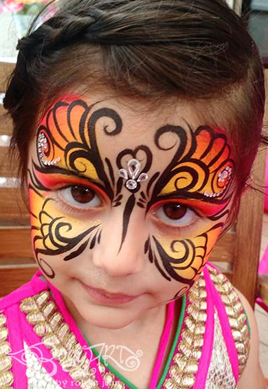 Good Face Painting in San Francisco
