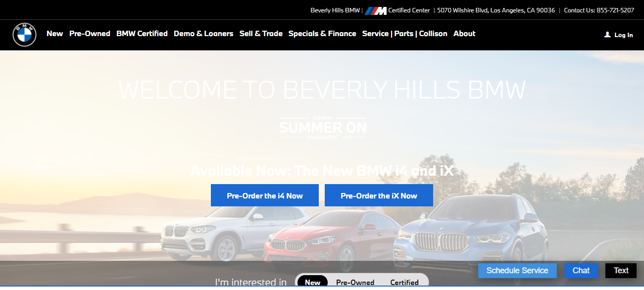 Beverly Hills BMW in Los Angeles, CA
