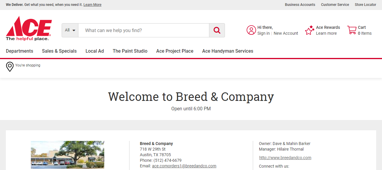 Breed & Company in Austin, TX