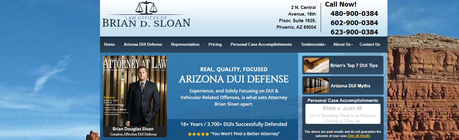 Law Offices of Brian D Sloan