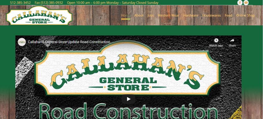 Callahan's General Store in Austin, TX