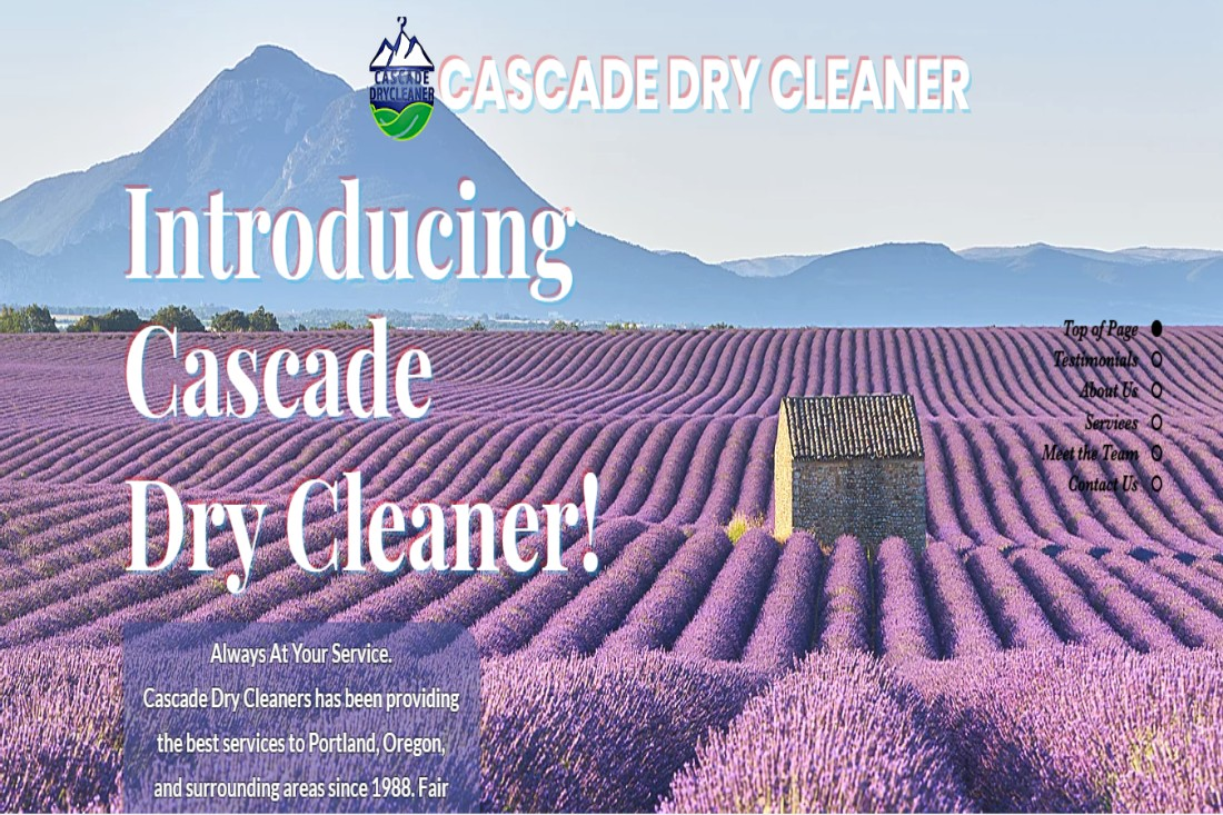 Cascade Dry Cleaners in Portland, OR