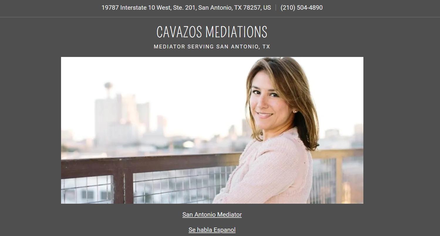 Cavazos Mediations