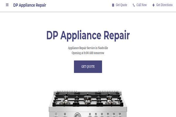 Appliance Repair Services Nashville