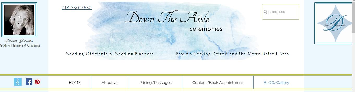 Down The Aisle Ceremonies
