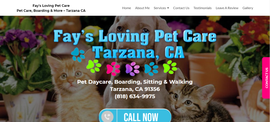 Fay's Loving Pet Care in Los Angeles, CA