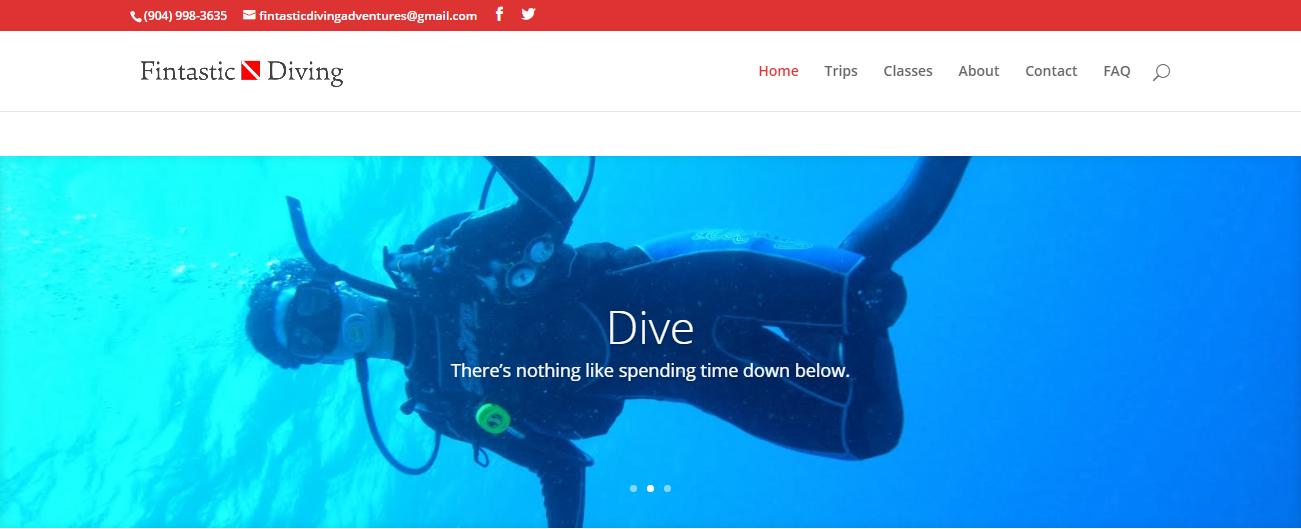 Fintastic Diving Adventures in Jacksonville, FL