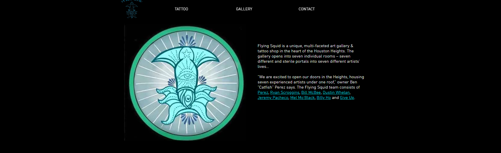 Flying Squid Art Gallery & Tattooing