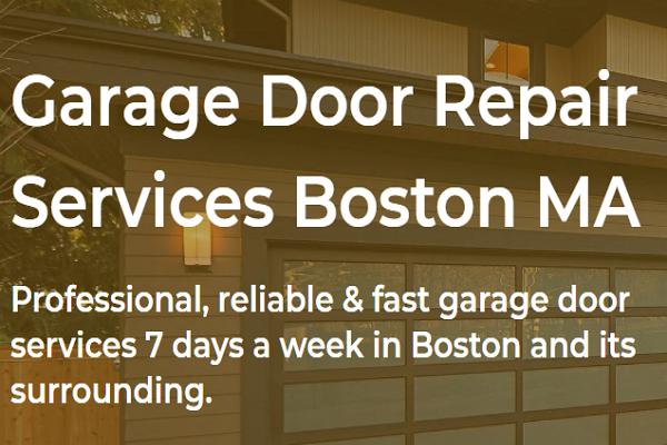 One of the best Garage Door Repair in Boston
