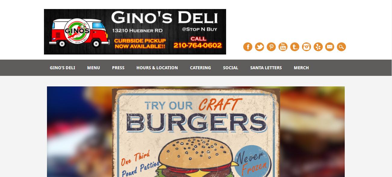 Gino's Deli in San Antonio, TX