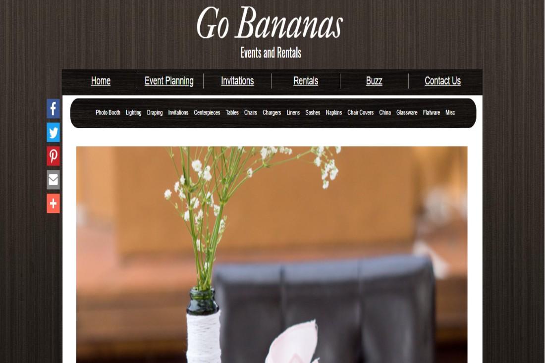 Go Bananas Wedding Supply Store in Fresno
