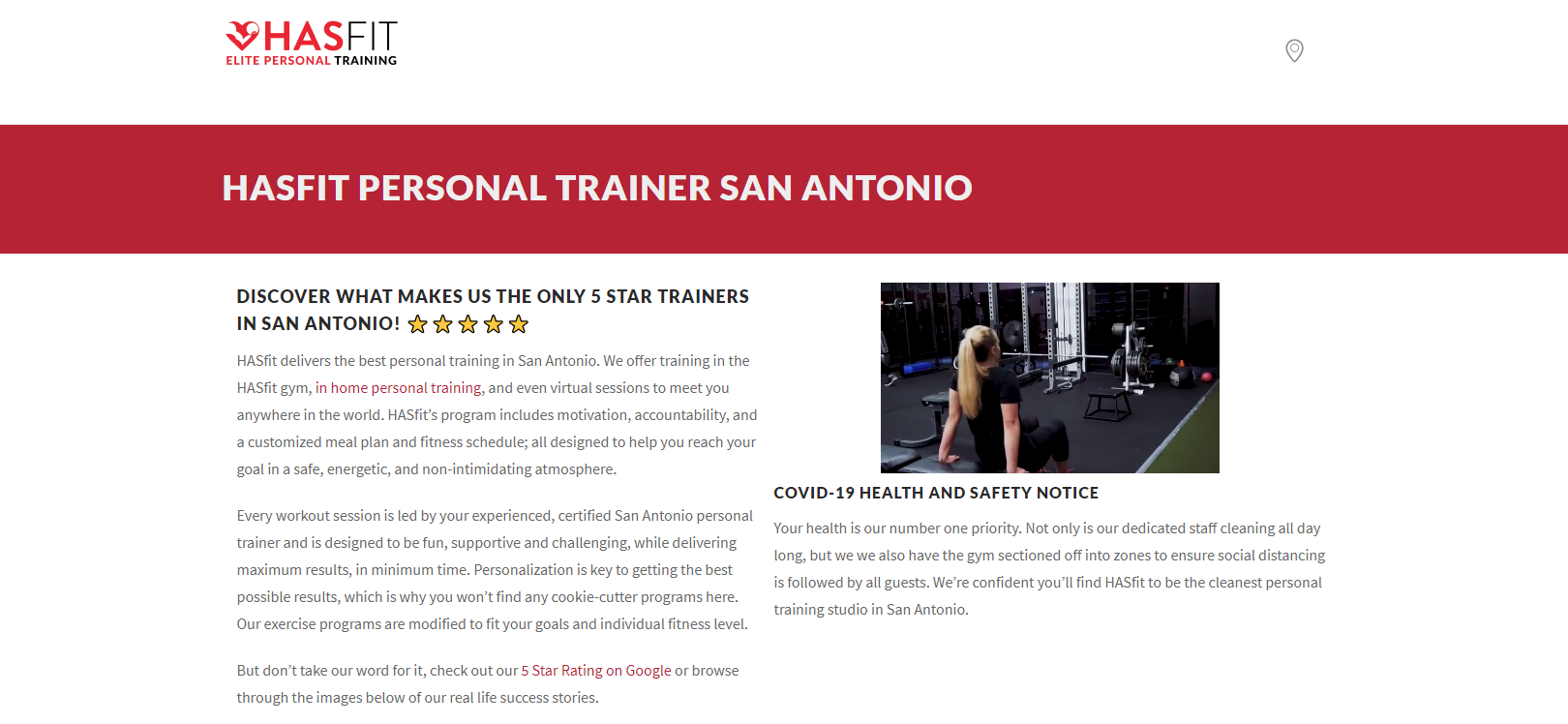 HasFit Elite Personal Trainer
