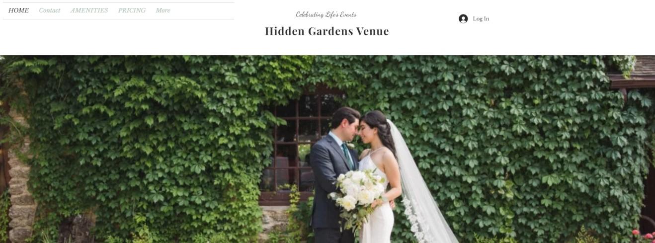 Hidden Gardens Venue