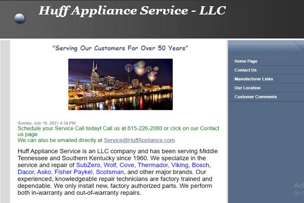 Good Appliance Repair Services in Nashville