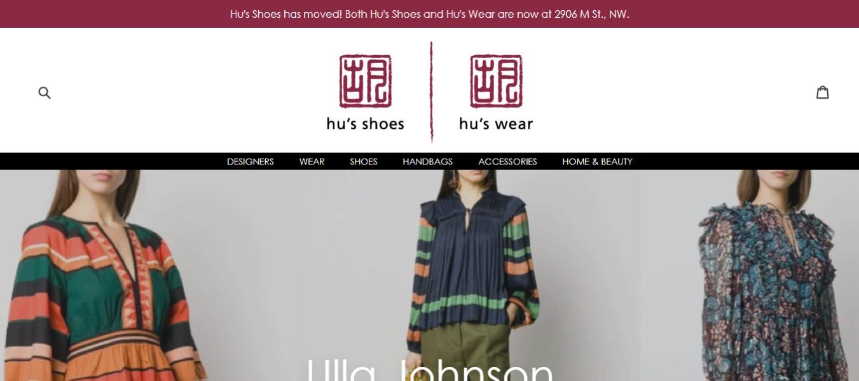 Hu's Wear Dress Shop in Washington