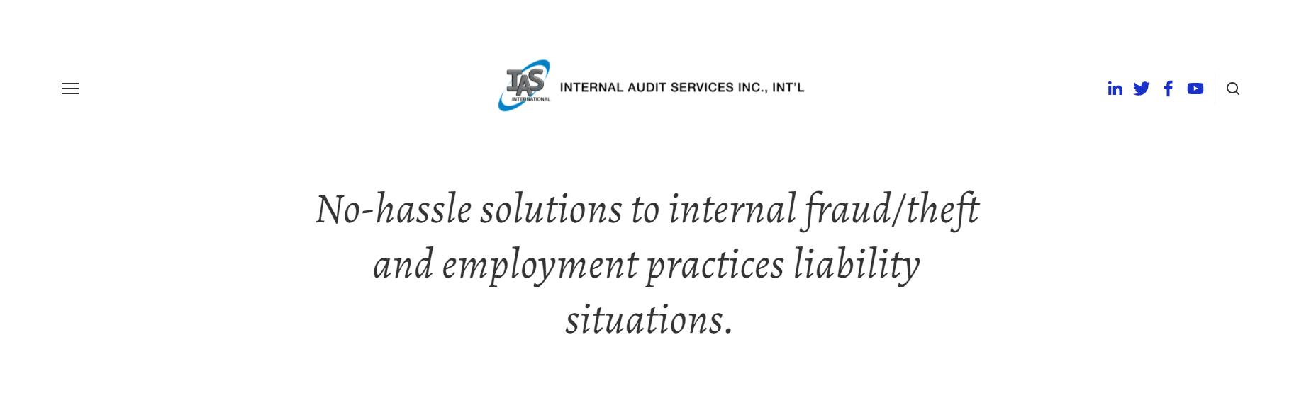Internal Audit Services Inc., Int'l
