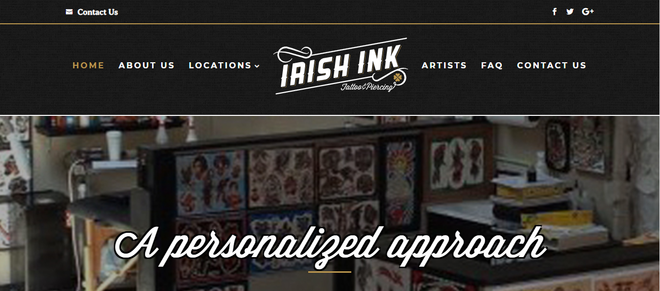 Irish Ink Tattoo & Piercing in Indianapolis, IN