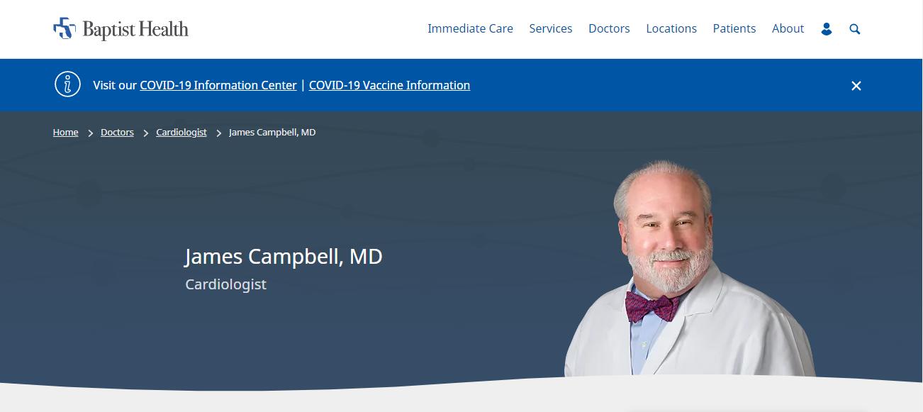 James Campbell, MD in Jacksonville, FL
