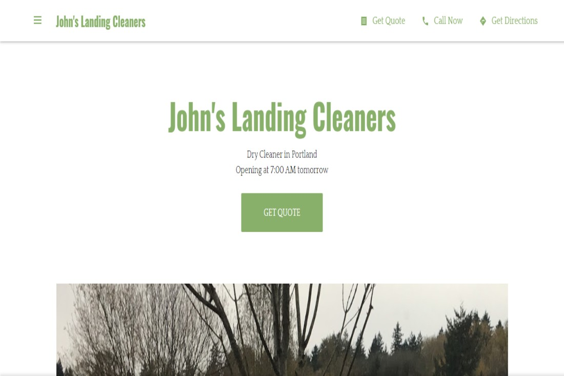 John's Dry Cleaners in Portland, OR