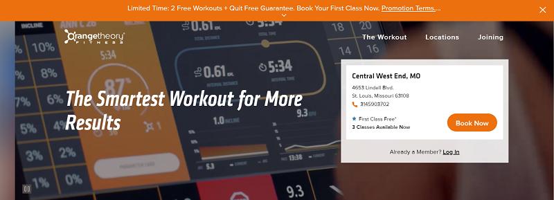 Workout Gym in Missouri