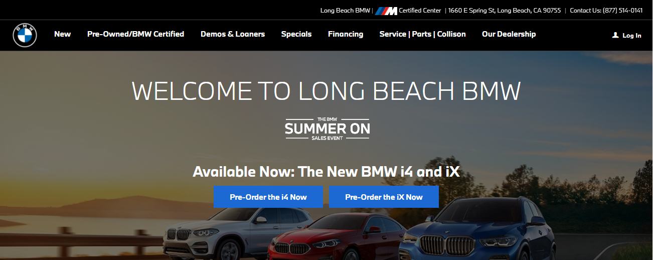 Long Beach BMW in Los Angeles, CA