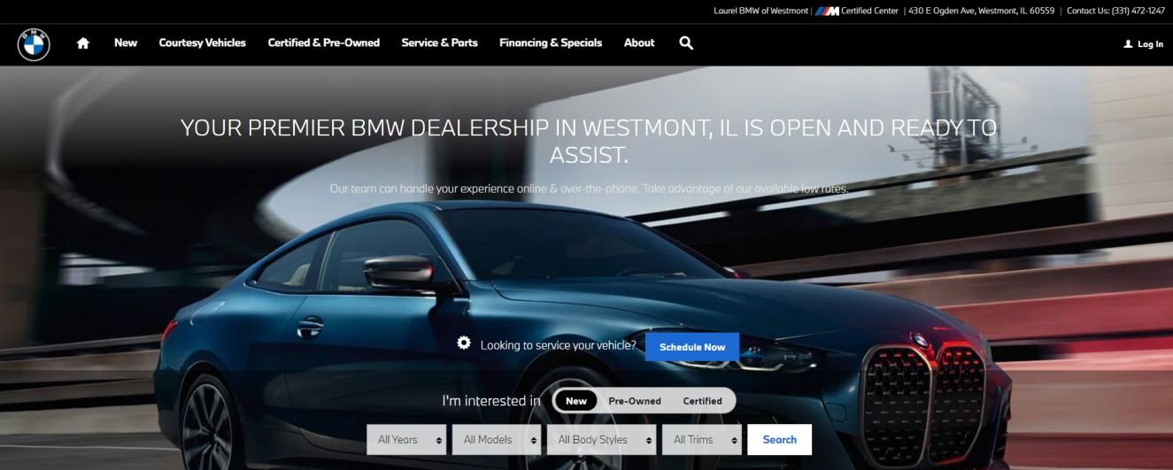 Lourel BMW of Westmont