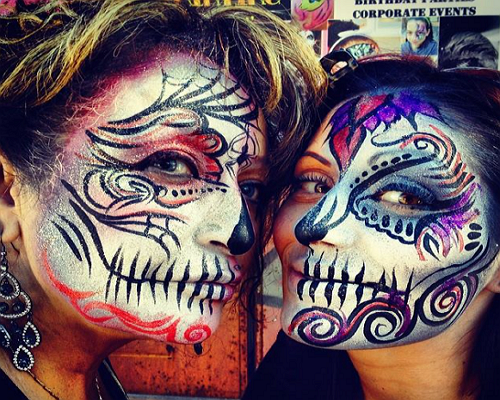 One of the best Face Painting in San Francisco