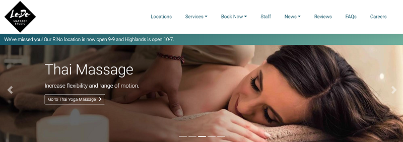 Massage Therapy in Denver