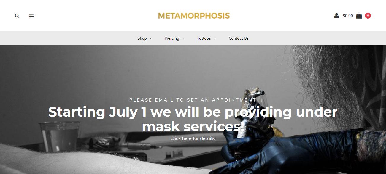 Metamorphosis in Indianapolis, IN