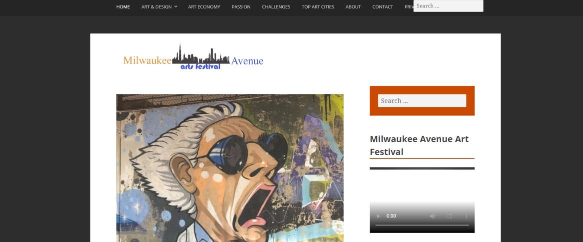 Milwaukee Arts Festival Avenue