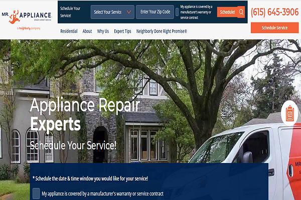 Top Appliance Repair Services in Nashville