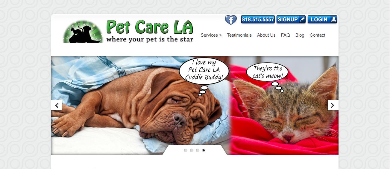 Pet Care LA in Los Angeles, CA