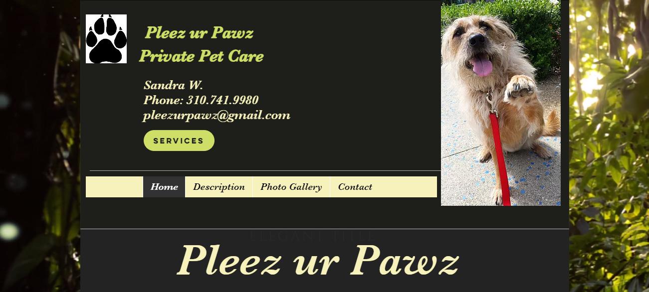 Pleez Ur Pawz in Los Angeles, CA