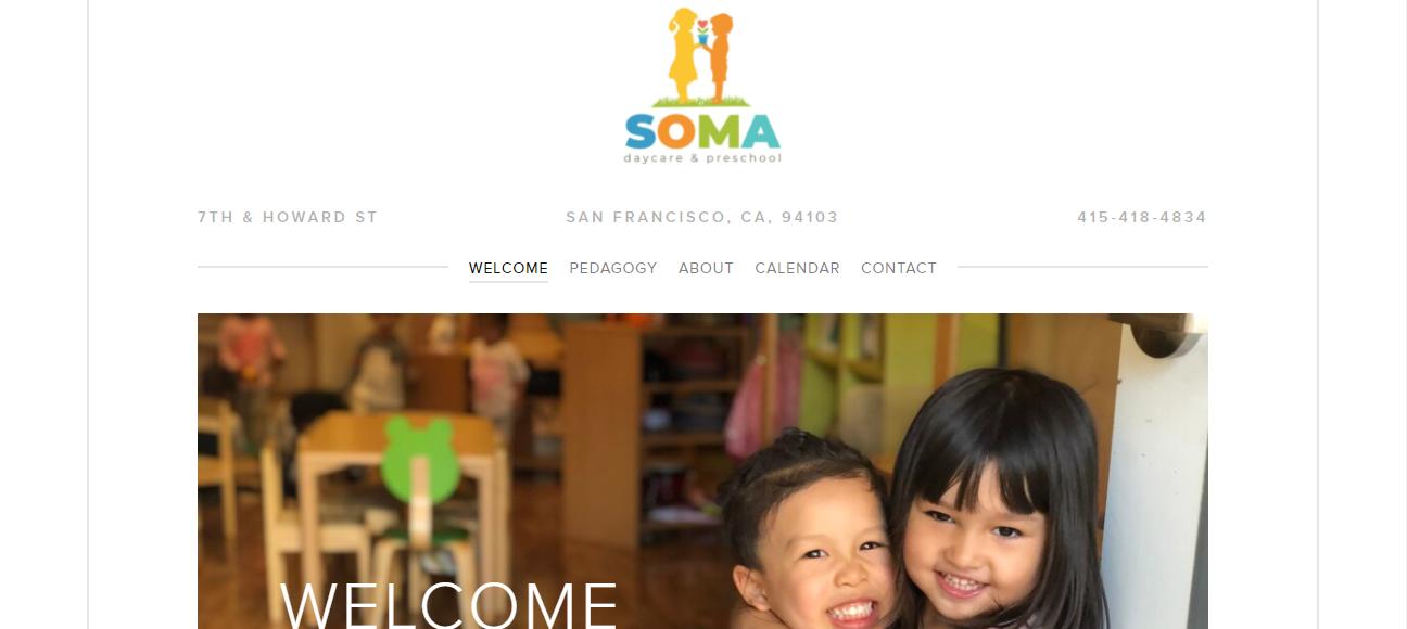 SOMA Daycare & Preschool in San Francisco, CA
