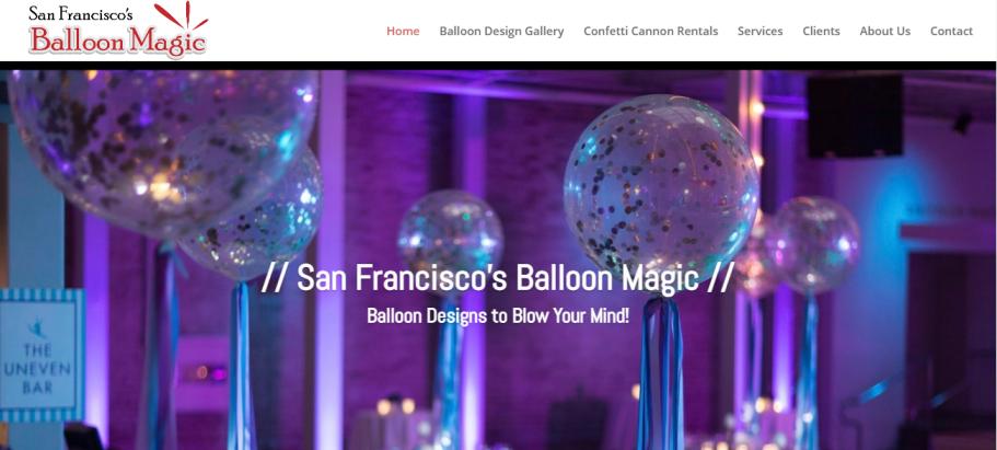 San Francisco's Balloon Magic in San Francisco, CA