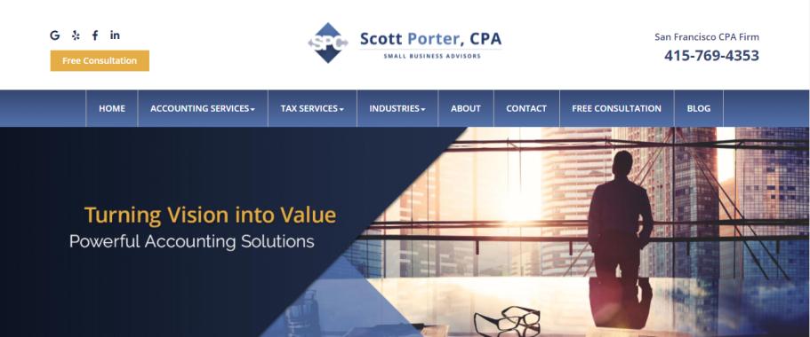 Scott Porter, CPA in San Francisco, CA