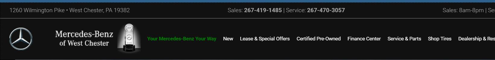 Best Mercedes Dealers in Philadelphia