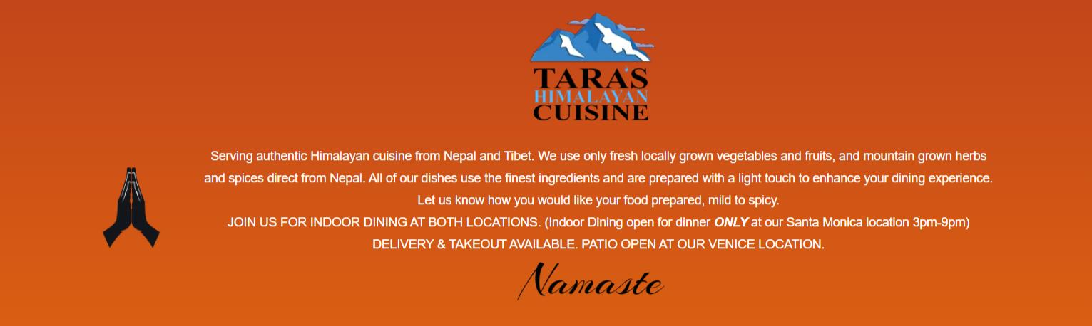 Best Nepalese Restaurants in Los Angeles