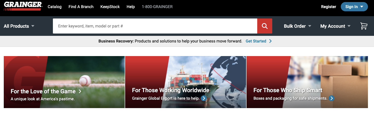 Grainger Electronics Milwaukee