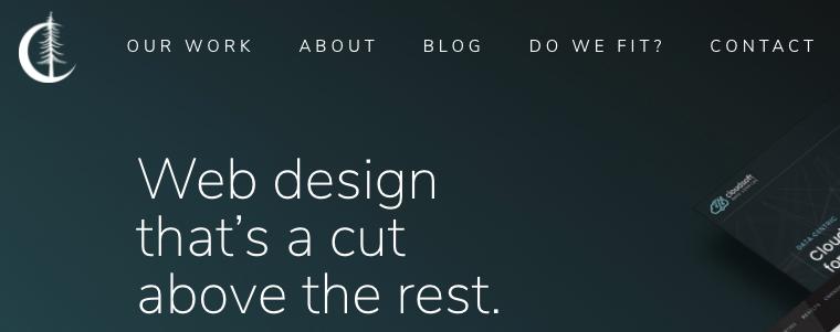 Timber Dark Design Web Hosting Memphis
