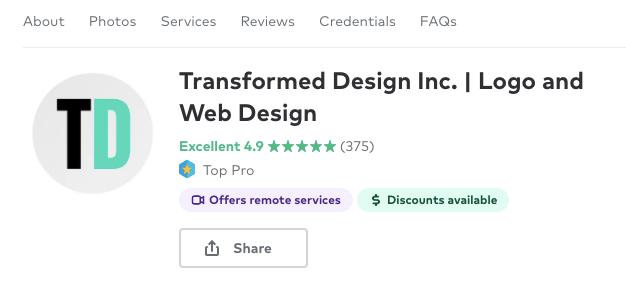 Transformed Design Web Hosting Memphis