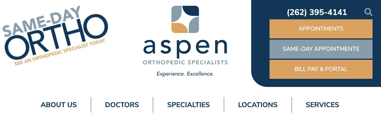 Aspen Milwaukee Orthopediatrician