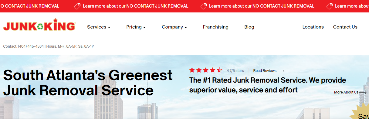 cleanest Best Rubbish Removal in Atlanta