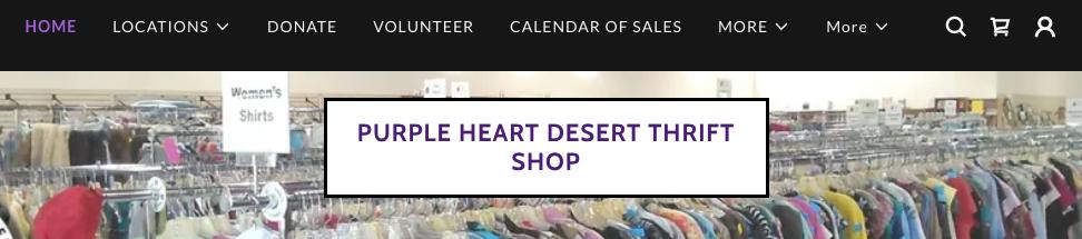 Purple Heart Best Second Hand Shops in Mesa, AZ