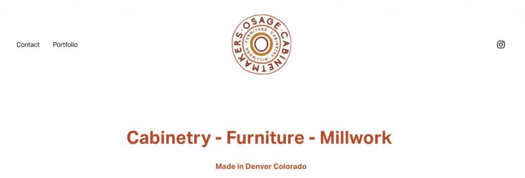 Osage Best Custom Cabinets Denver
