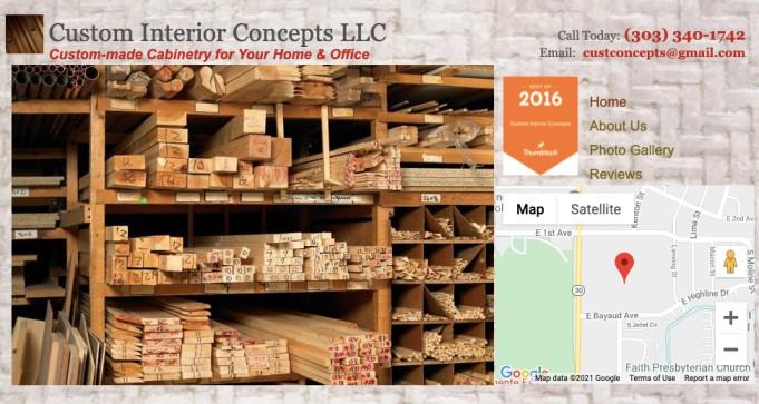 Custom interior concepts custom cabinets in denver