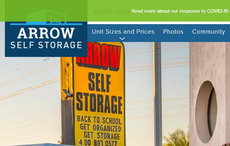 self storage in Mesa
