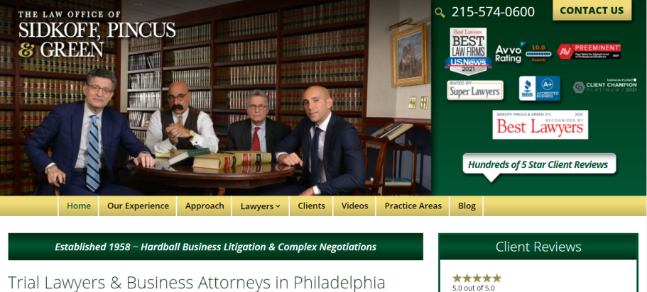 Sidkoff, Pincus & Green in Philadelphia, PA