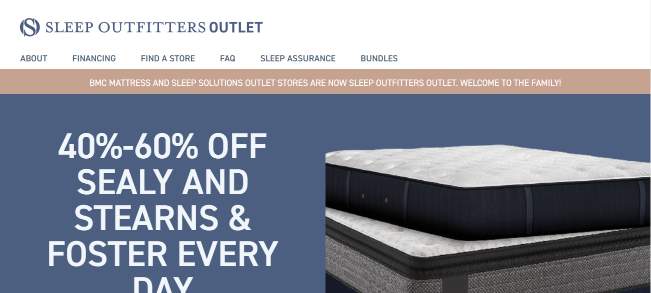 Sleep Outfitters Outlet in Phoenix, AZ